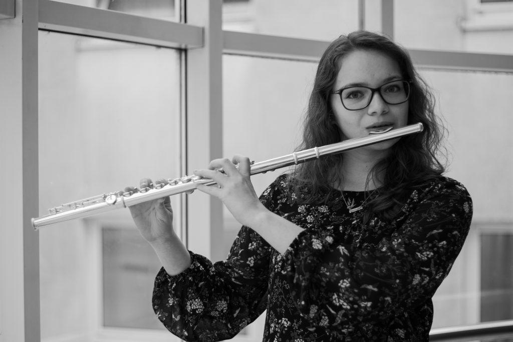 """Isabela Maria Stefanyshyn:""""Rozhodnutí a příležitost studovat hru na flétnu v Brně, považuji za životní výhru."""""""